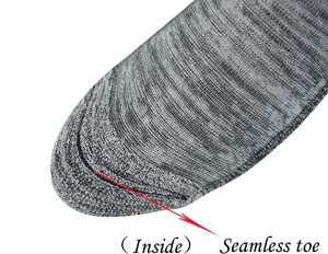 Image 4 - Mens 4 Pairs Bamboo Diabetic Ankle Socks with Seamless Toe And Cushion Sole,L Size(Socks Size:10 13)