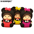 SD23 Прекрасная Кукла Телефон Чехлы Для iPhone 5 5s 6 6 s плюс SE Мобильный Телефон Противоударный Защитный чехол Случаи Корпус Аксессуар