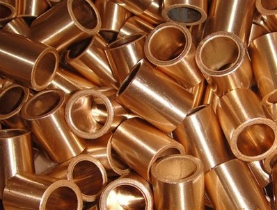50*60*60mm  FU-1 Powder Metallurgy oil bushing  porous bearing  Sintered copper sleeve 60