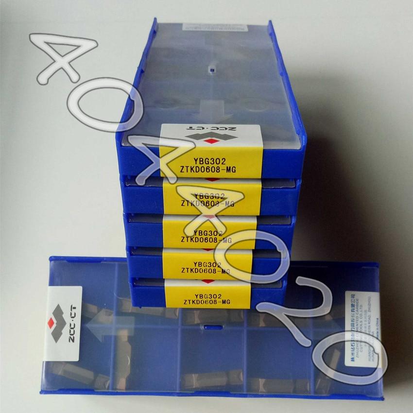 ZTKD0608-MG YBG302 10pcs/box New carbide insert