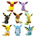 20cm Pokemon Plush Toys Anime Poke Eevee Stuffed Doll Umbreon Eevee Espeon Jolteon Flareon Glaceon Kawaii Baby Toy gifts sty2580