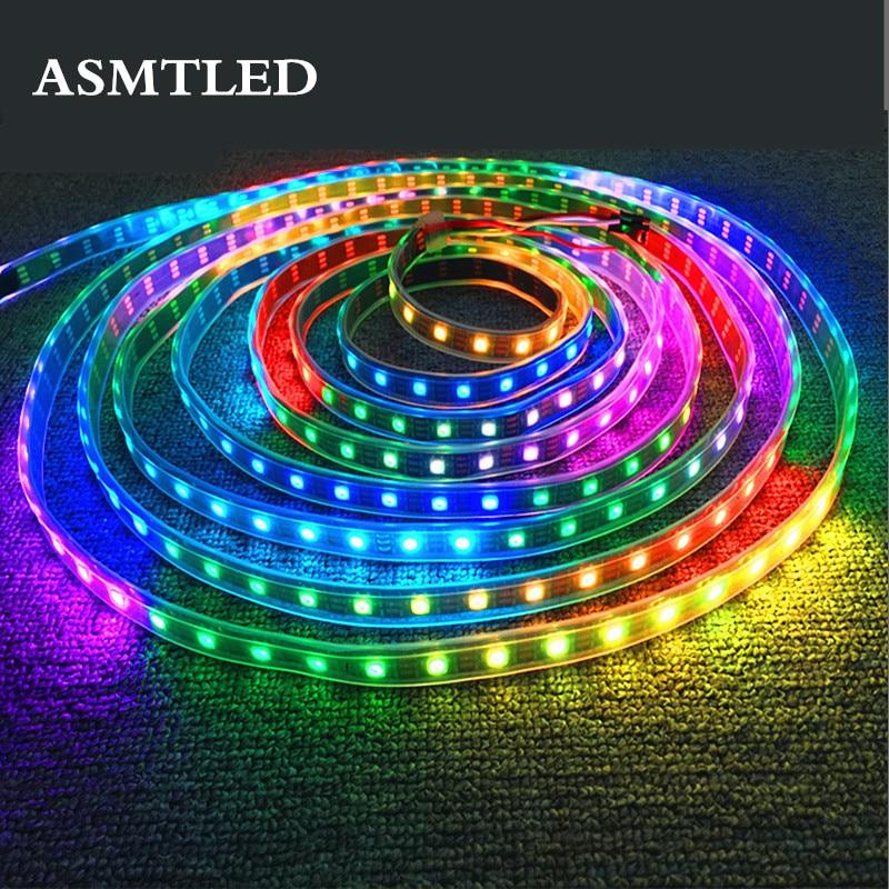 0.5m-5m 12V LED Pixel Strip WS2811 Programmable Addressable 30/60 Leds/m External 1 IC 2811 Control 3 Leds 5050 RGB LED Tape