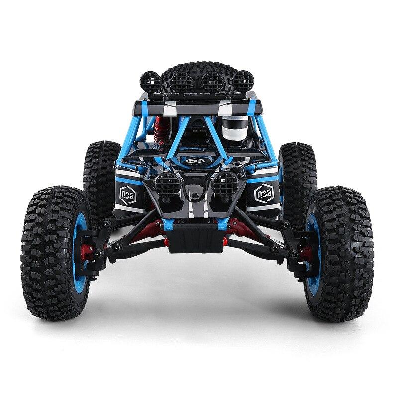 Jouet RC pour enfants adultes Q39 2.4G 4WD 1:12 39 CM grande taille 40-50 KM/H radiocommande haute vitesse désert voiture de cross-country vs 12891 - 2