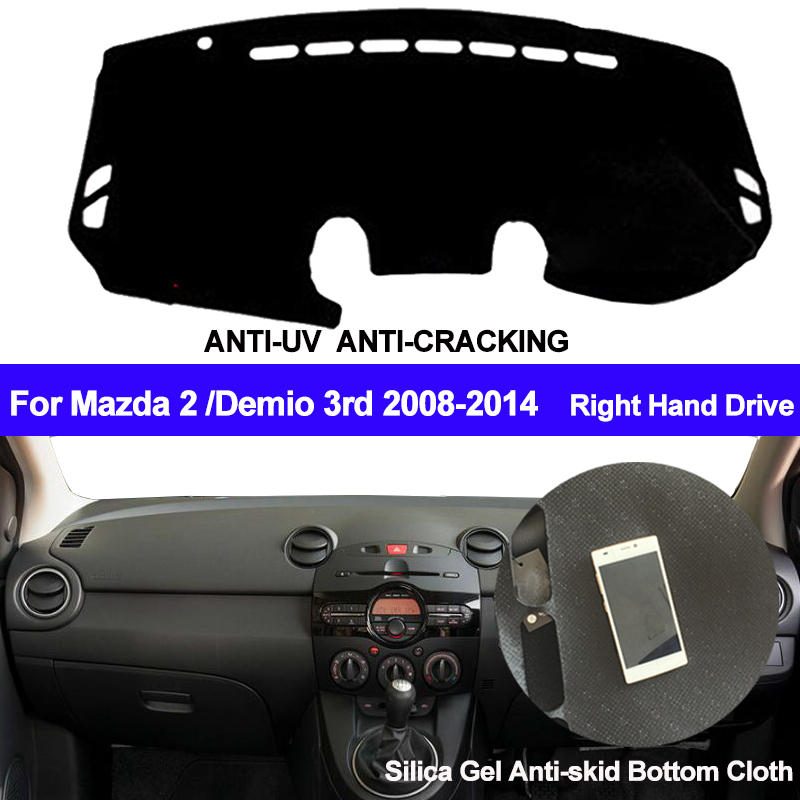 top 9 most popular car dashboard cover mats mazda 2 brands
