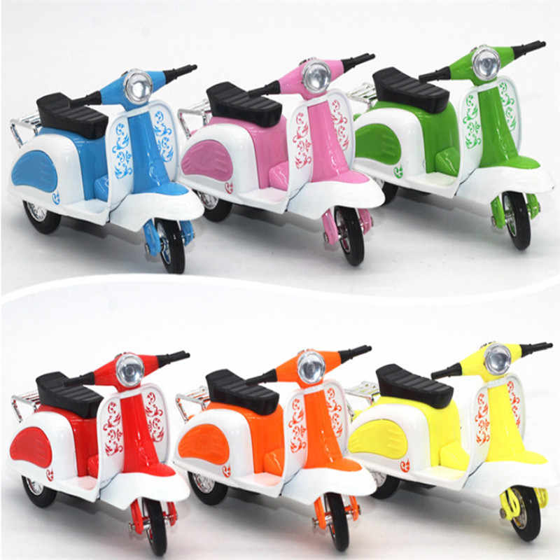 Mode Toko MS Balap Motor Sepeda Pembawa Truk Mainan Mobil Kendaraan Truk Sampah b # dropshipping