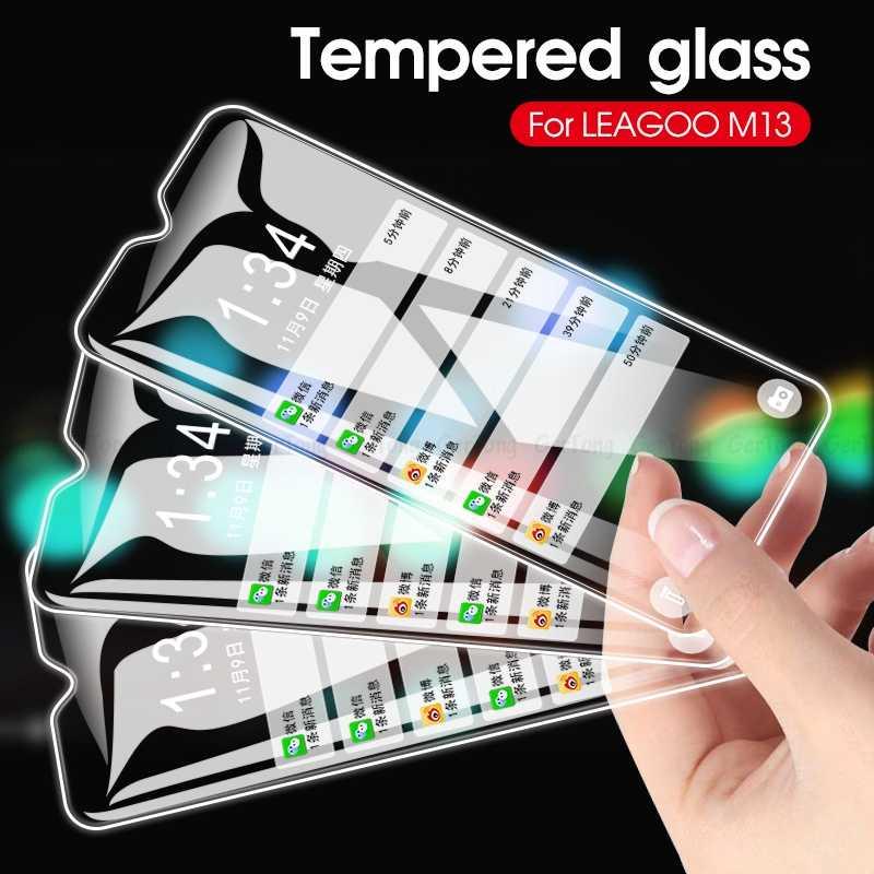 Ultra Fina Premium de Vidro Temperado Para Leagoo Poder 2 M5 M11 M13 M8 M9 Pro 9H Dureza Tela HD protector Protecção Guarda Vidro