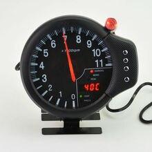 120 мм 3 в 1 м Белый или лицо Тахометр 0-11000 об./мин. воды tempgauge или давления масла датчик Автоматический измерительный прибор