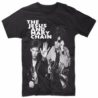 Cool T Shirts Designs Men S The Jesus And Mary Chain Memory 80 T Shirt O