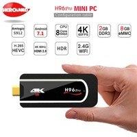 H96 Pro Amlogic S912 Octa Core Android 7 1 Smart TV Box 3G 32G 2 4G