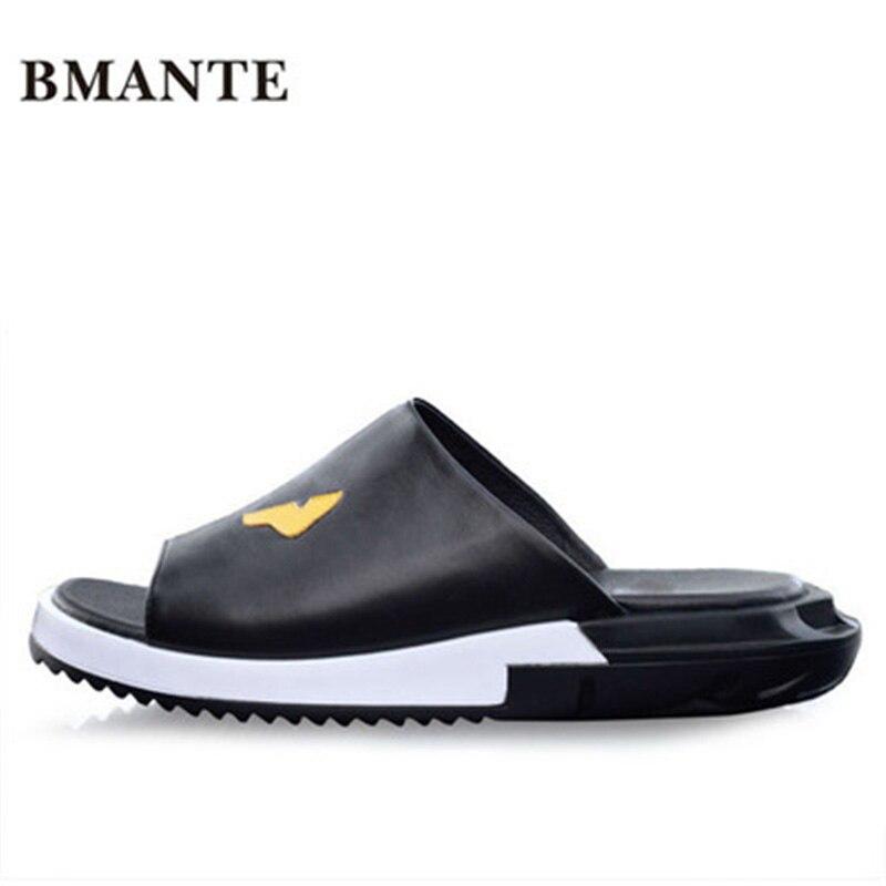 Luxury Slippers Summer Men Shoes Print Rome Fashion Flat Men Slippers Sandals Spring New Men Appliques Beach Casual Sandal fghgf shoes men s slippers mak