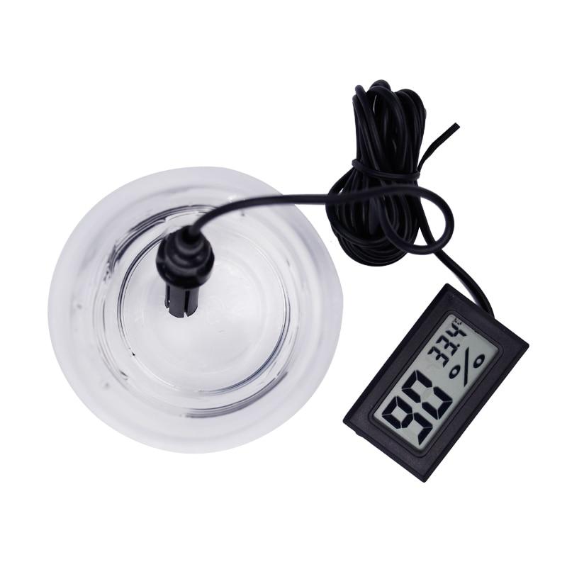 20db / tétel Digitális LCD hőmérő Higrométer Hőmérséklet - Mérőműszerek - Fénykép 4