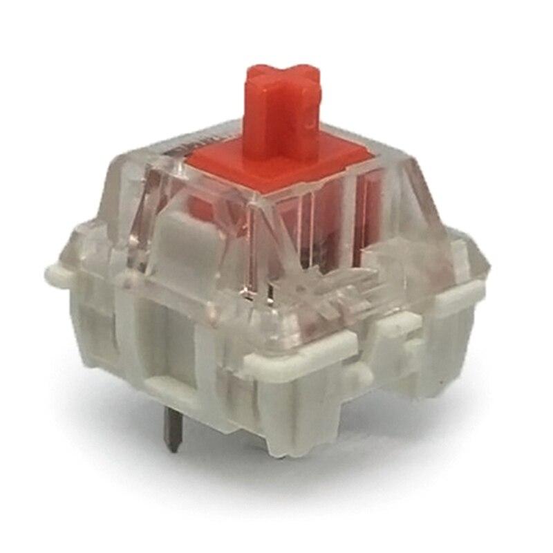 1 Stück Rot Rgb Smd Schalter Staubdicht Schalter Tastatur Box Schalter Für Mechanische Gaming Tastatur Wasserdicht Roten Schalter Niedriger Preis