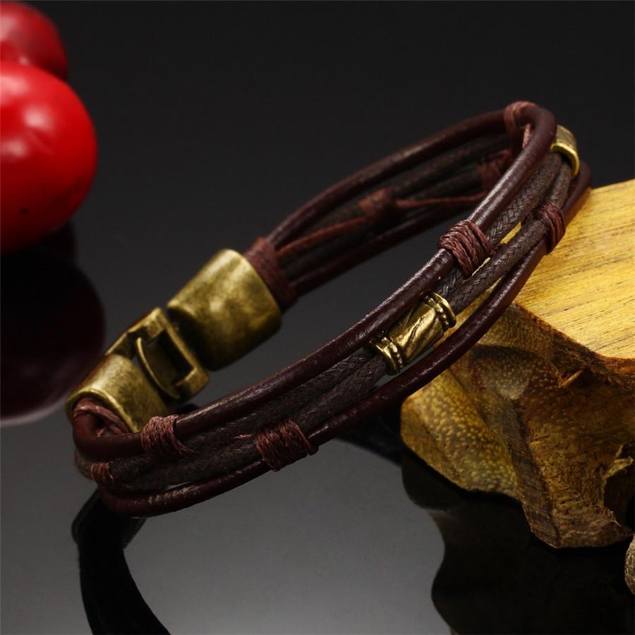 OPK-Fashion-Multi-Layer-Genuine-Leather-Man-Bracelets-Casual-Sporty-Easy-Alloy-Hook-Link-Chain-Men (2)