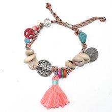 Новые европейские ювелирные изделия плетеные браслеты в стиле