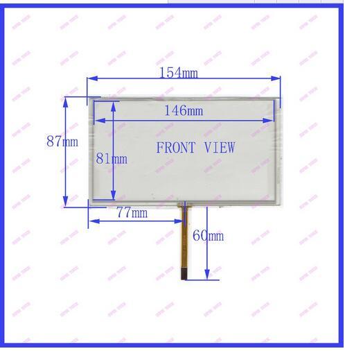 ZhiYuSun HST-TPA6.2AM 154*87 Inch Touch Screen Digital  Handwriting Screen  Periphery Dimension 155*88 General Touch Screen