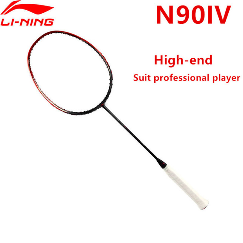 Li-Ning 3D Breakfree N90 IV Professional Badminton Racket Chen Long Rackets LiNing Single Sport Equipment Rackets AYPM264 EONF17