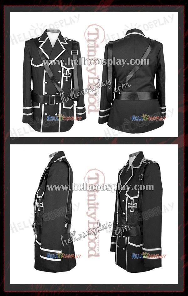 Trinity Blood Cosplay Dietrich Von Lohengrin Costume H008