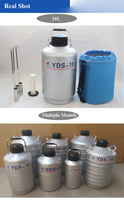 YDS 30 Nitrogen Container Liquid Nitrogen Cans for Liquid Nitrogen Storage Tank Cryogenic Tank Dewar with Strap