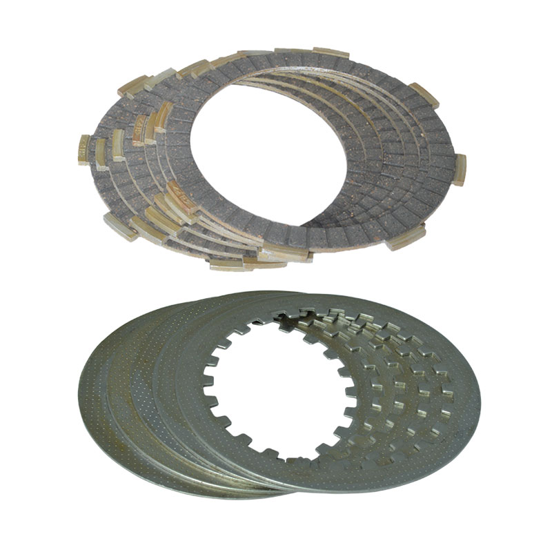 High Quality 4 Column Clutch (6pcs Friction Plates+5pcs Iron Disc) Set For Honda CG150 CG 150 162FMJ Replacement