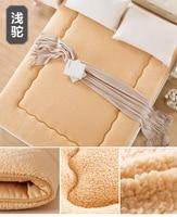 Nuovo anno 1 M Agnelli lana materasso Singolo e doppio tatami conservazione di calore a piastre hotel bed pads Spedizione gratuita