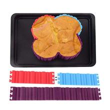 Creative DIY Combination Cake Baking Mold Random Mosaic Shape Silicone Inventory clearance