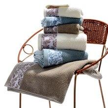 купить LYN&GY 3 pcs Towel Set 100% Cotton Grey Brown Solid Color Soft Home/Hotel Bathroom (Bath towel +Face Towel+hand towel) дешево