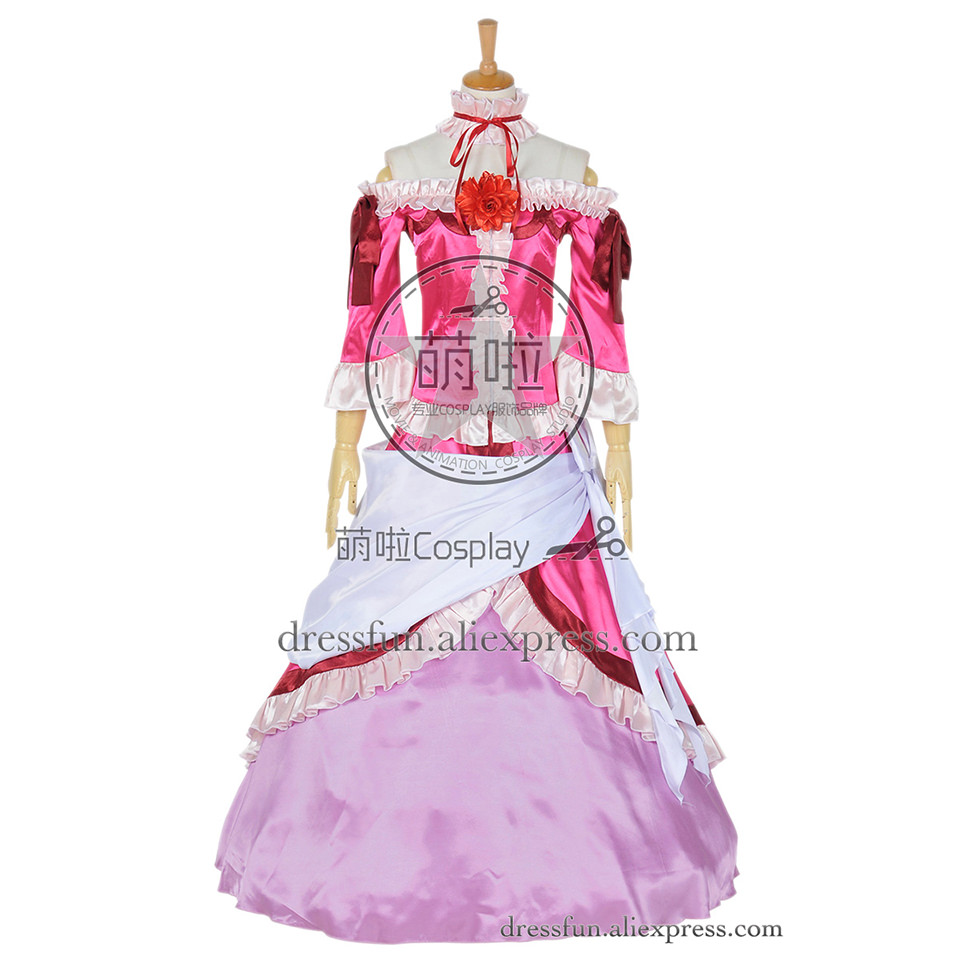 Fairy Tail Cosplay The Daughter Of Heartfilia Conglomerate Lucy Heartfilia Costume Dress Suit Halloween Party Fast Shipping