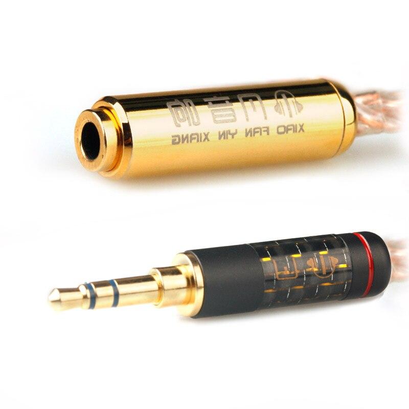 Xiao Fan Orphée Rallonge Fièvre Ordinateur Haut-Parleur 3.5mm Mâle à Femelle Câble Audio Casque Extension Ligne Livraison Gratuite