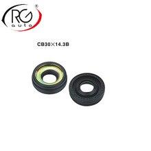 שמן חותם/רכב AC מדחס שפתיים סוג גומי רכוב פיר חותם/עבור Denso 7sbu 16 R134a, מדחס