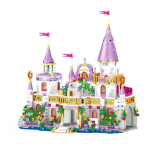 731pcs Windsor Princess Castle toy Model Building Blocks Set Compatible Friends Series Fairy Education Children Christmas Gifts disney education windsor castle princess friend girl building blocks toys give your childrens the best christmas gifts