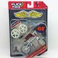 """Flick Trix Bmx Mini Finger Bike """"intérprete"""" modelo de aleación de barras de soporte de exhibición de bicicletas con ruedas truco bonus pegatinas y herramientas"""