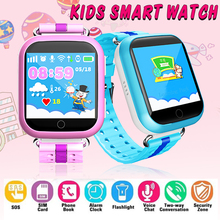GPS Smart Watch Q750 Q100 Baby Smart Watch With 1.54inch Touch Screen SOS Call Location Device Tracker for Kid Safe PK Q50 Q90 bvlgari omnia pink sapphire туалетная вода 65 мл
