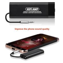 S50 плюс Усилители для наушников Портативный HIFI усилитель для наушников улучшить качество звука для IPhone Xiaomi смартфон Автомобильный Динамик