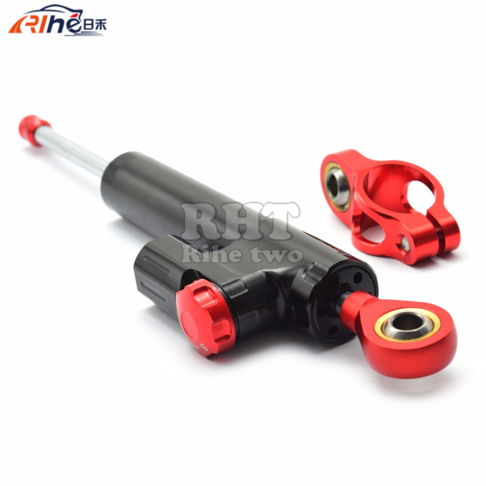 Universal New CNC Aluminum Motorcycle Steering Damper Stabilizer Adjustable For Yamaha BMW G310R S 1000 RR S1000RR S1000 R HP4 universal new cnc aluminum motorcycle steering damper stabilizer adjustable for yamaha xsr 700 xsr700 xsr 700 xv950cr yzf r3 yzf
