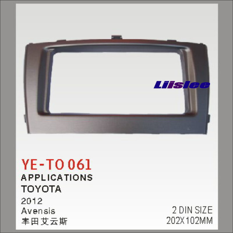 Liislee For Toyota Avensis 2012