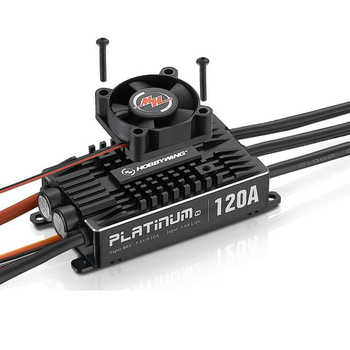100% Original Hobbywing Platinum Pro V4 120A 3-6S Lipo BEC Brushless ESC for RC Drone Aircraft Helicopter - DISCOUNT ITEM  0% OFF All Category
