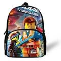 12-inch Kids Lego Cartoon Bag, Cute Infant Bag Lego Backpacks For Boys And Girls, Children Mochilas School.