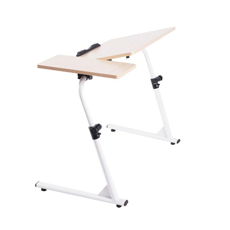 Ergonomie Laptop Runde Tisch Home Möbel Frühstück Portion Bett Tablett Tische Gemütliche Pc Schreibtisch In Lager In Russland China