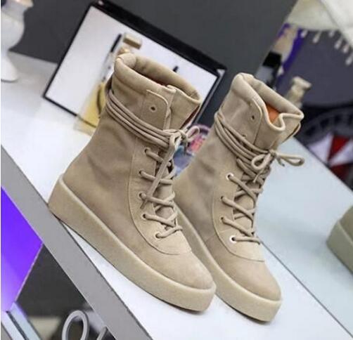 Home Europäische Klassische Militärische Crepe Mode Männer Stiefel Unisex Mid-kalb Lace-up Flache Stiefel Solide Wildleder Schuhe Männer Frühling/herbst Schuhe