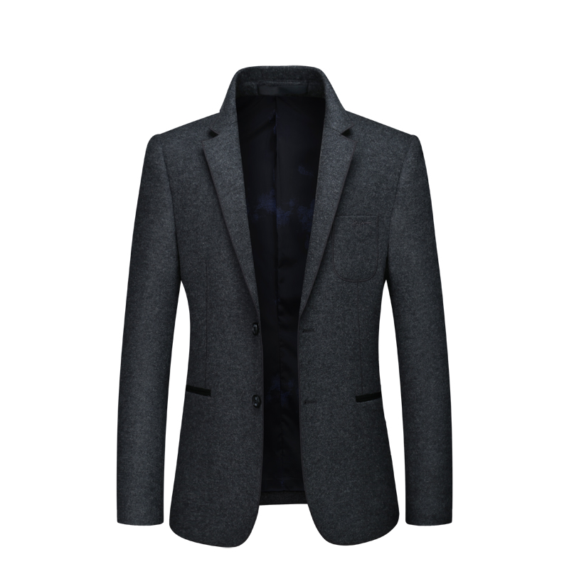 N&B Men Suit Jacket Dress Blazers Mens Frock Coat Man Dress Slim Fit Casual Blazer Night Club Coats Jackets Suits for Men SR11 - 3