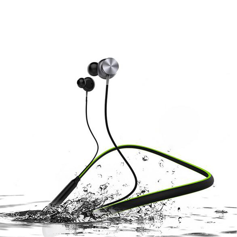 HT1 Wireless Bluetooth Headphone Neckband Outdoor sport Stereo Headset Waterproof Magnetic With Mic Earphone For iphone xiaomi  цена