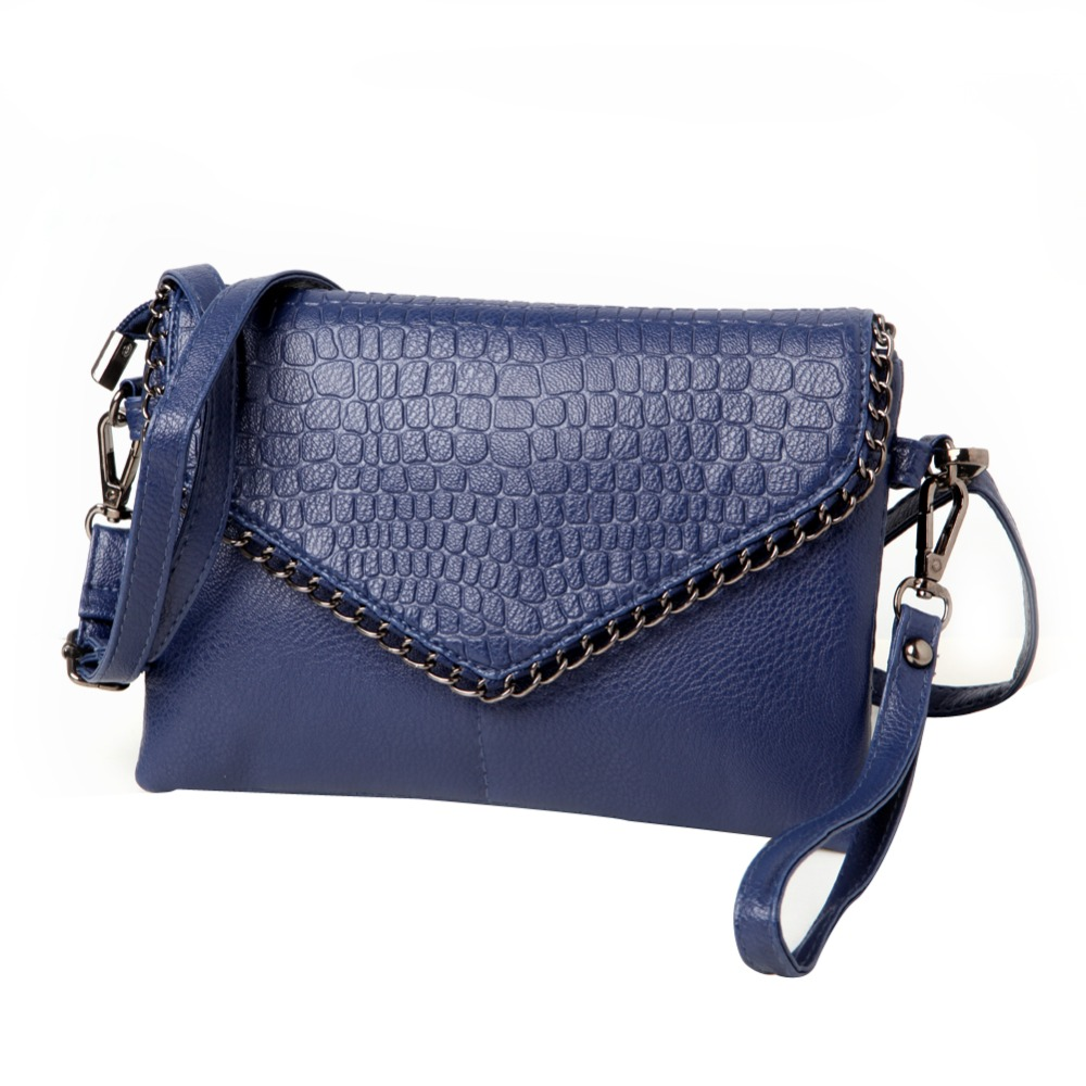 Women Lady New Fashion Small  Shoulder Bag Messenger Bags Soft PU Leather Crossbody Bag Hasp Zipper Black Blue Solid Envelope free shipping new fashion brand women s single shoulder bag lady messenger bag litchi pattern solid color 100