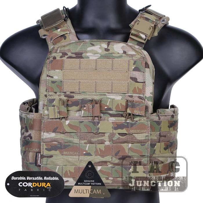 Emerson cp estilo cpc colete tático emersongear gaiola placa transportadora caça militar tático airsoft colete multicam