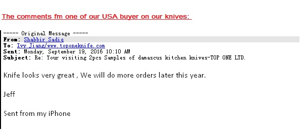 USA buyer