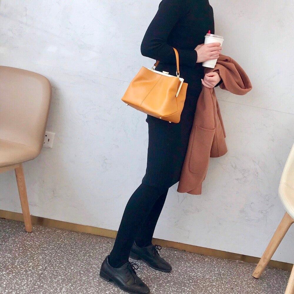 Blue dark Bourse White Designer Luxe Sacs À Femmes noir Main Épaule 2018 yellow Feminina tout De Bandoulière Pour En Véritable Cuirs Kafunila Fourre 1P6BWB