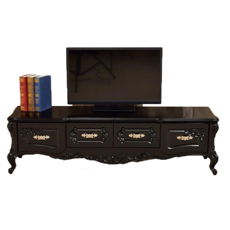 De Flat Screen Lemari Sehpasi Entertainment Center European Wodden Living Room Furniture Meuble Table Monitor Stand Tv Cabinet