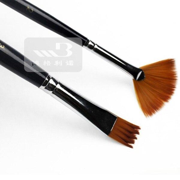 12Pcs Watercolor Paint Brushes Set Nylon Hair Painting Brush Variety Style Short Rod Oil Acrylic Painting Brush Pen Art Supplies 5