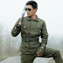 High Quality Outdoors Autumn 2017 Men American CS Tactical Army Hijau Tentera jaket tempur seragam + celana Kerja Penyamaran Suit