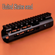 Hunting Sinairsoft AR 15 Rail NSR 7 Free Float Handguard Top System Lightweight Accessories