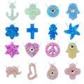 Hot moda colar de pingente de opala 16 estilos colar choker mulheres/girl power collier colares 925 jóias de prata opale